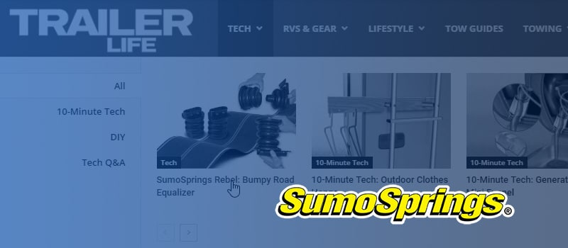Trailer Life Magazine's SumoSprings Rebel Review